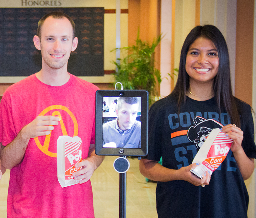 Telepresence Robot with students